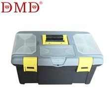 DMD CJ-1 инструментов портативный инструмент случае Инженер ящик для хранения большой пластиковый замок ремонт инструментов многофункциональный бесплатная доставка