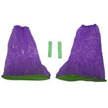 Super waterproof high tube boots cover sets of rain boots