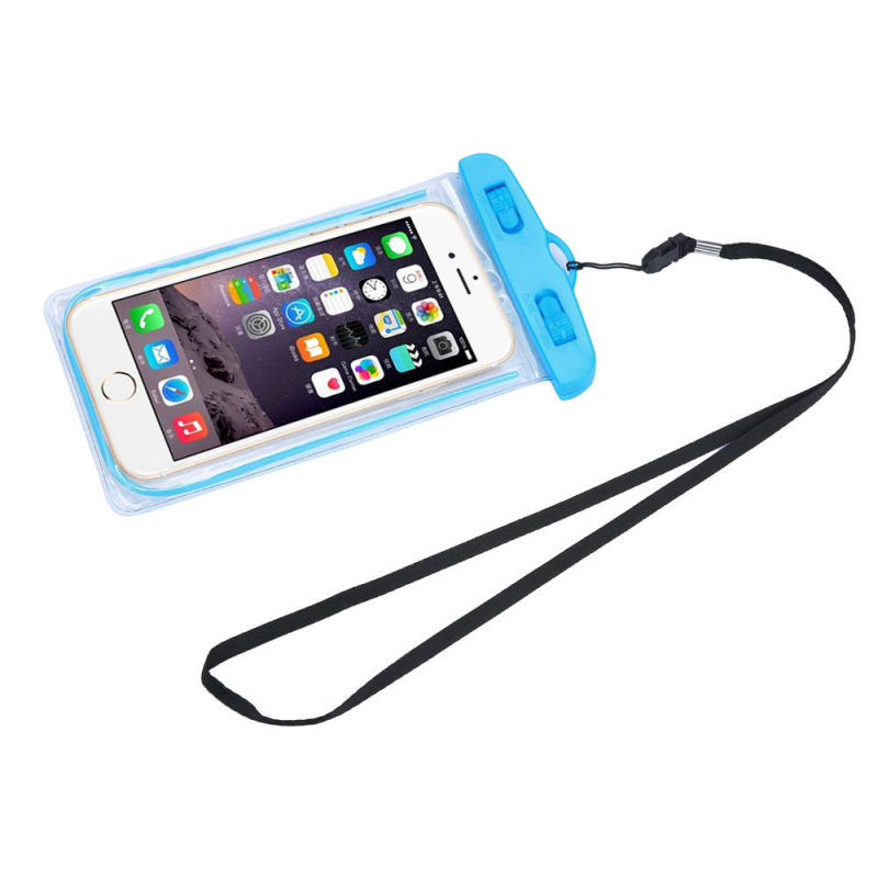 New Clear Travel Swimming Waterproof Pouch Dry Bag Case Cover for 5.5 inch Cell Phone for Iphone 4 4S 5 5S 6 6S Plus Suppion