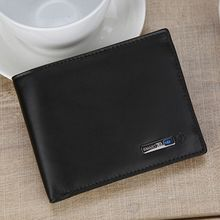 Men Genuine Leather Bluetooth Smart Wallet Anti Lost GPS Locator Tracker Purse Credit Card Holder