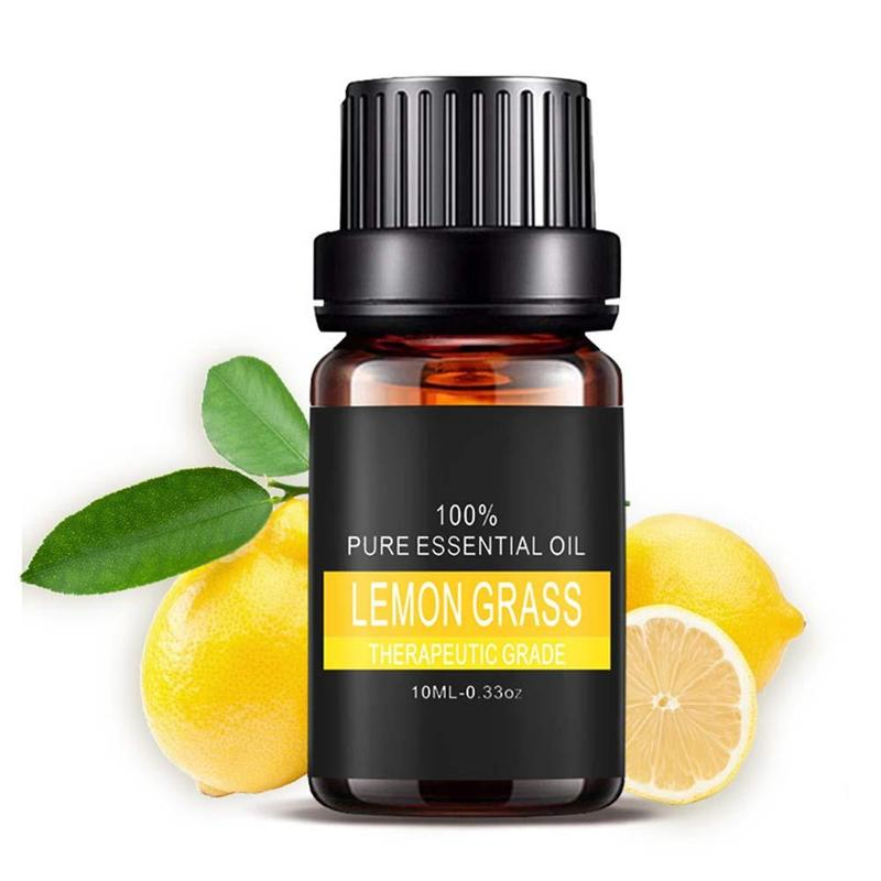 Pure Plant Essential Oils For Aromatic Aromatherapy Diffusers Aroma Oil Lavender Lemongrass Tea Tree Oil Natural Home Air Care 8