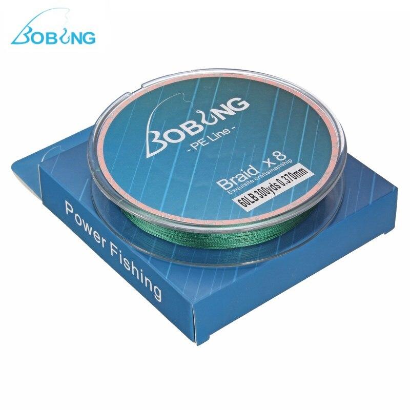 Bobing Super Strong Multifilament 300M PE <font><b>Fishing</b></font> <font><b>Lines</b></font> <font><b>8</b></font> <font><b>Strands</b></font> Braided Wire 15 to 60LB Rope Code Carp <font><b>Fishing</b></font> Tackle