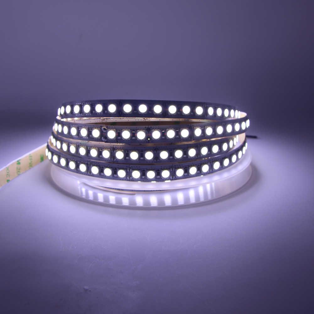 Taśma LED 120 led/m taśma oświetlająca 24V 12V 5050 5054 SMD biały ciepły biały 1m 2m 3m 4m 5m wodoodporny do sufitu licznik światło szafkowe