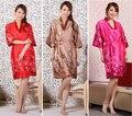 Бесплатная Доставка!!! китайский Стиль Отдыха женская Одежда Кимоно Банный Халат Ночь Халат Платье Юката