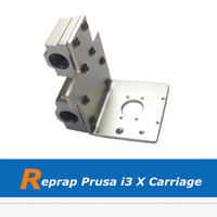 Reprap Prusa i3 3D Printer Parts Aluminum Alloy X Axis Printing Head X Metal Exturder Carriage