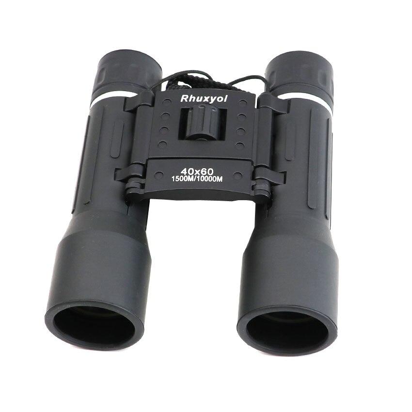 2016 Professional 40x60 powerful binoculars Zoom Field glasses Handheld Telescope Long Range binocular Wide Angle Vision Hunting Бинокль