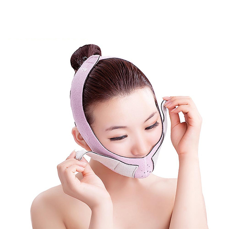 Slim Face Health Face Care Correction Bandage Mask Night And Day Using Slim Shaper Thin Face Belt Burn Fat Of Your Face T067OLF