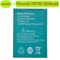3200mAh Original Vkworld VK700 Battery Batterie Bateria AKKU PIL Vkworld VK700 Pro Battery