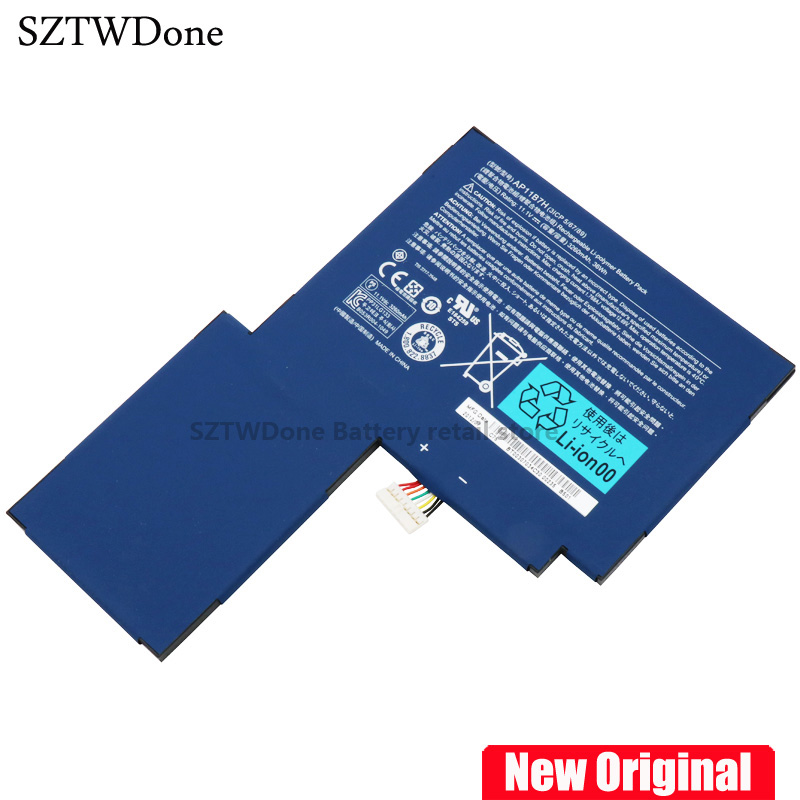Original Laptop battery for ACER Iconia Tab W500 W501 W500P Tablet AP11B7H AP11B3F BT.00303.024 BT.00307.034 3ICP5/67/89 original new touchscreen for acer iconia tab a100 tablet