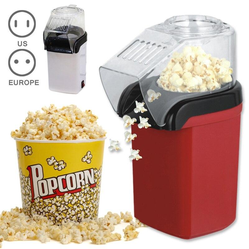 Fashion Home DIY Popper Children Gift Mini Electric Corn Popcorn Maker Machine Household Cooking Tools High Quality HY99 JU08