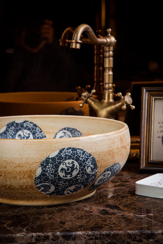 chinese Jingdezhen Art Counter Top ceramic traditional basin bowls (10)