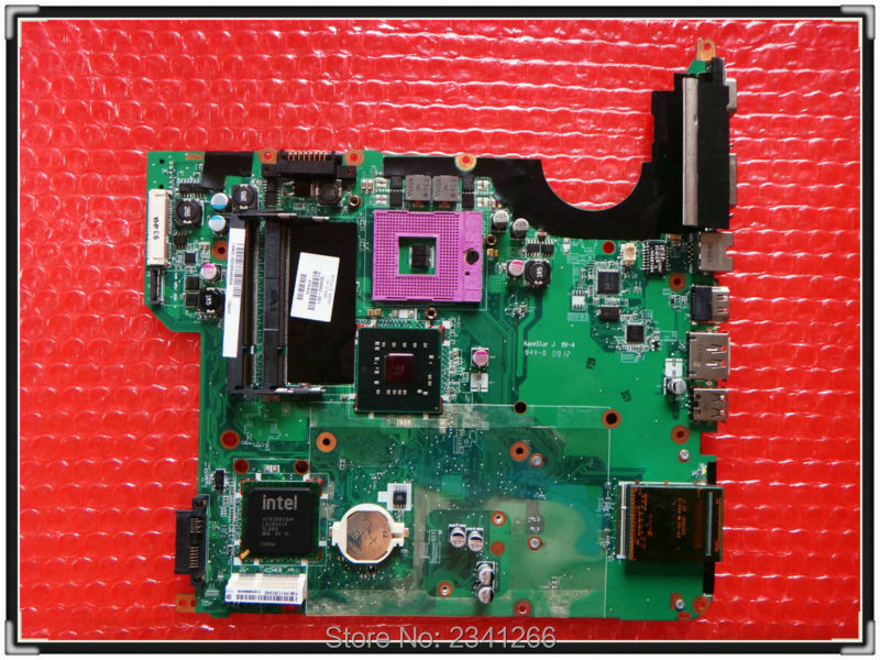 ФОТО 504642-001 for hp DV5-1000 NOTEBOOK  for HP DV5 laptop Motherboard Retail and Wholesale, scheda madre Top Quality 100% TESTED