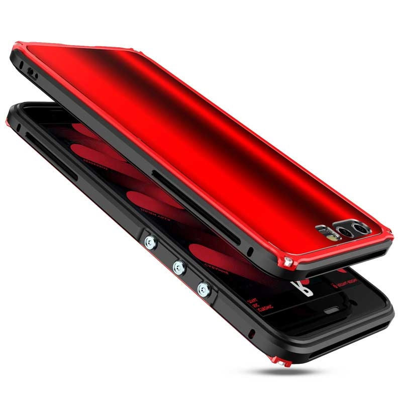 BOBYT For HUAWEI P10 plus Bumper Frame with Back Protective <font><b>Panel</b></font> Design Hybrid Casing Fundas Cape For Huawei P10Plus