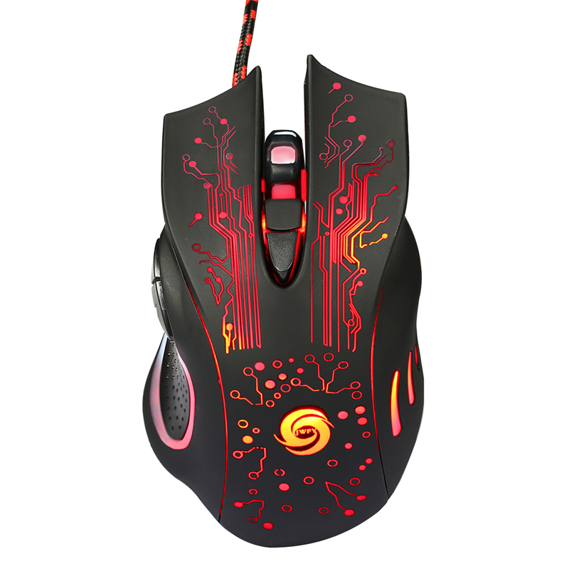 3200DPI LED Optical 6D USB Wired Gaming Mouse Game  Pro Gamer Mice For PC Laptop notebook Gamer Computer Mice mause mosunx e5 mecall promotion 2400dpi led optical 6d usb wired gaming game mouse pro gamer computer mice for pc whoelsale