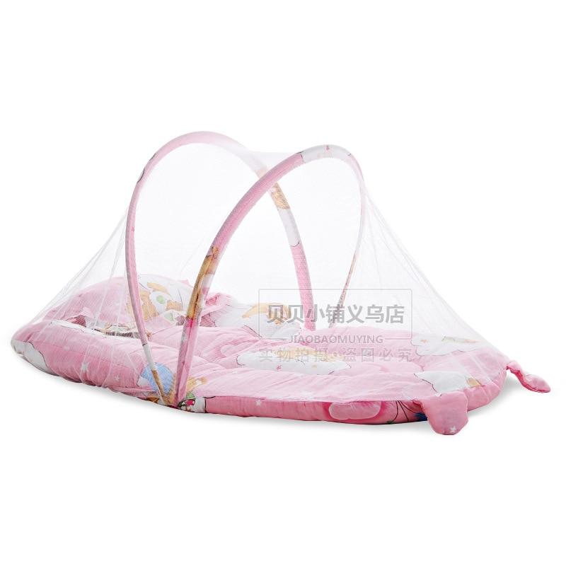 Draagbare Babybedje Klamboe Tent Functie Cradle Bed Zuigeling - Beddegoed - Foto 2