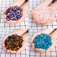 100g Natural Stone Pink Crystal Amethysts Tigers Eye Turquoise Beads For Jewelry Making DIY Accessories