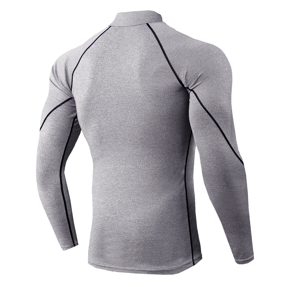 Frieed Mens Hooded Solid Casual Long Sleeve Gym Workout Jersey T-Shirt Tee Top