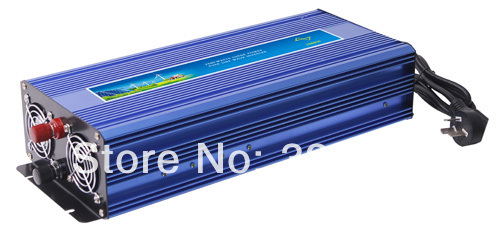 peak power 2000W pure sine wave UPS 1000W inverter DC12V/24V input,AC 100-120V or 220-240VAC output  with 10A charger