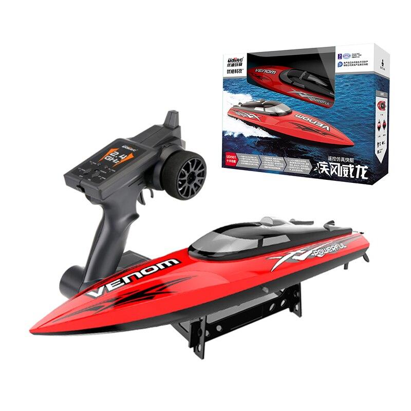 30 KM/H haute vitesse Mini RC bateau 2.4GHZ 4CH Radio télécommande hors-bord pour bateau de pêche appât bateau électrique RC jouets pour cadeaux