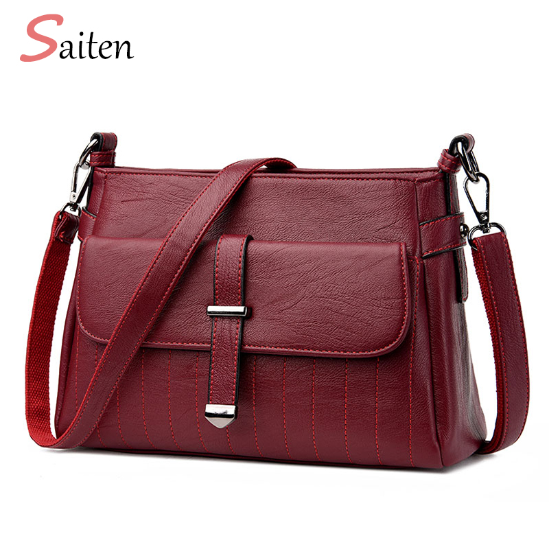 Luxury Shoulder Bag Women Leather PU Bags Designer Fashion Ladies Crossbody Bag New 2017 Women Messenger Bags bolso mujer