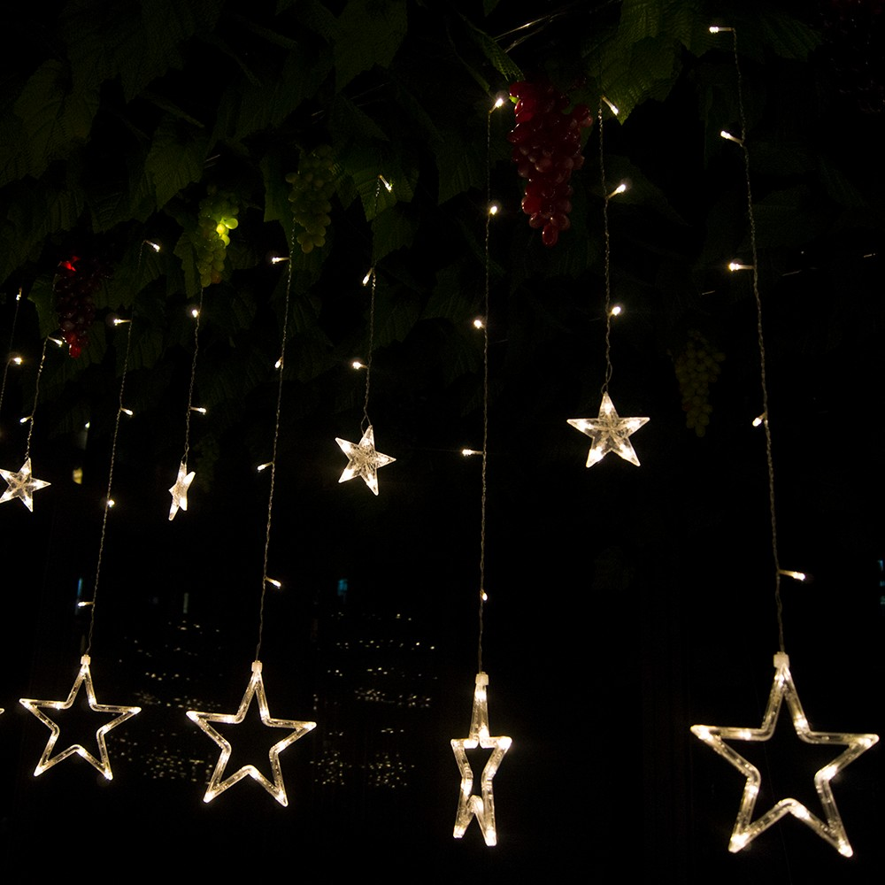 Uncategorized String Lights Stars solsolar outdoorindoor 220v colorful stars curtain led string getsubject aeproduct getsubject