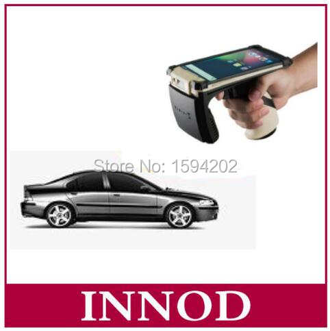 US $750 0 |Android 6 0 impinj chip Handheld UHF RFID Reader With WiFi  Bluetooth Pistol Portable Bacode Scan reader for Warehouse Inventory-in  Access