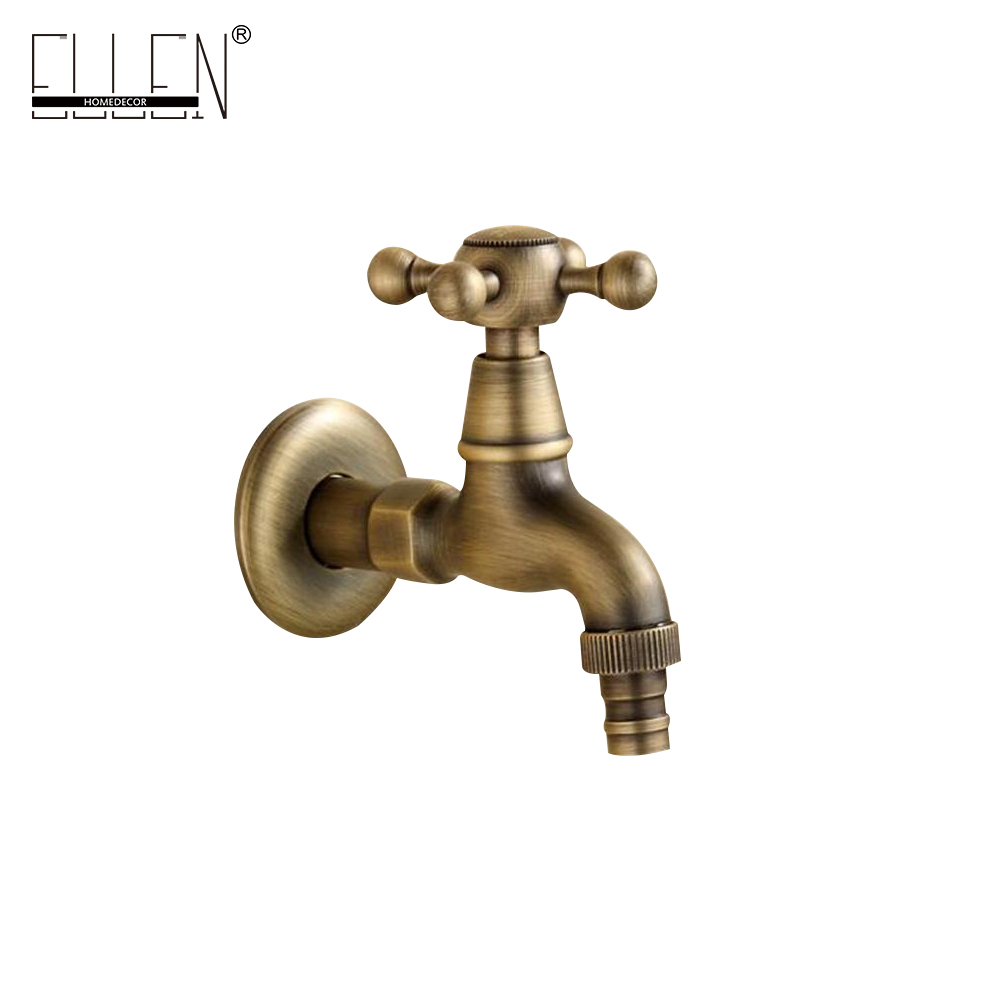 все цены на Antique bronze faucet Garden Bibcock washing machine faucet outdoor faucet for Garden