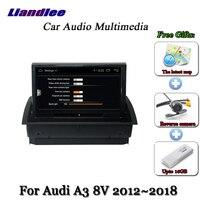 Liandlee Car Android System For Audi A3 8V 2012~2018 Stereo Radio TV Carplay Camera GPS Navi Navigation BT HD Screen Multimedia