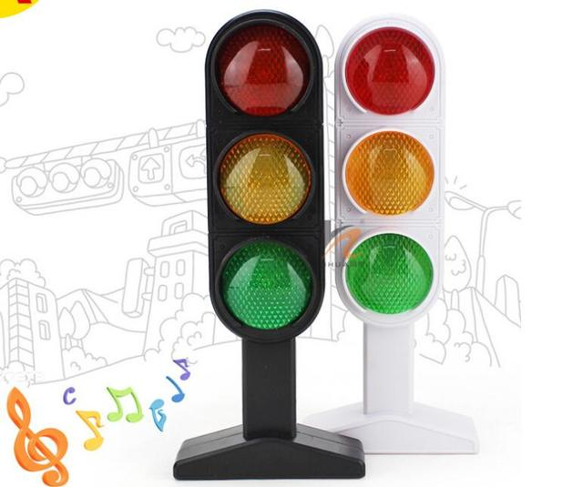 1pcs Time Limited New Trains Slot Kid Toys Child Traffic Light Signal Lamp  Toy Mini
