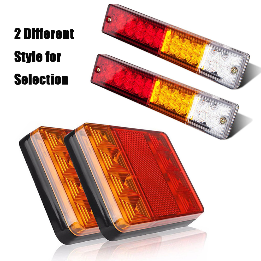 Atv,rv,boat & Other Vehicle Boruit 12v Waterproof 20 Led Atv Trailer Truck Tail Light Yacht Car Taillight Reversing Running Brake Turn Warning Lights A Wide Selection Of Colours And Designs