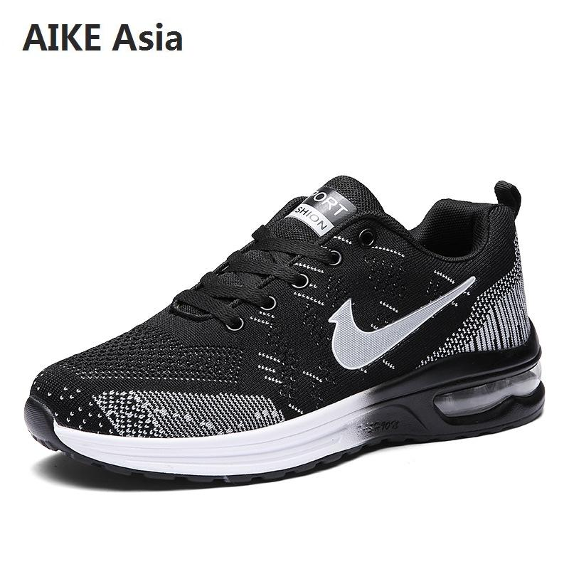 Bright Aike Asia 2019 Hot Summer Style Mesh Shoes Adult Mens Casual Breathable Lightweight Walking Driving Shoes Ladies Flat Shoes Online Discount Shoes Men's Shoes