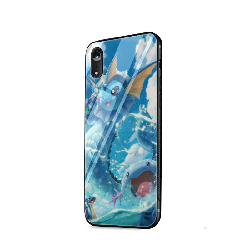Charizard Squirtle Pokemon Pokemons TPU caso para iPhone 11 Pro XR X XS X Max 5 5S 6s 6 7 8 Plus cubierta protectora