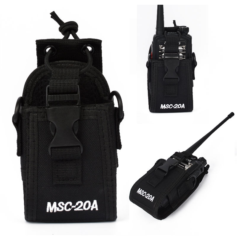 MSC-20A Walkie Talkie Case Holder For ICOM Yaesu Two Way Radio Transceiver
