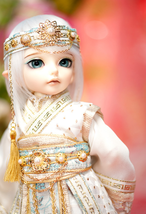 OUENEIFS Littlefee EL Fairyland bjd 1/6 body model reborn baby girls boys dolls eyes High Quality toys shop resin anime ...