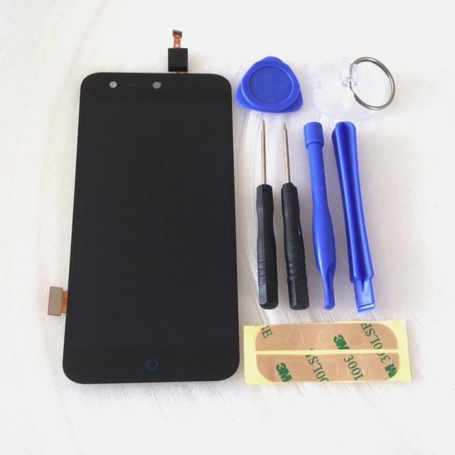 Черный Полный ЖК-Дисплей + Сенсорный Экран Digitizer Тяга Для ZTE лезвия X5/Лезвие D3 T630 Бесплатная доставка + наборы инструментов