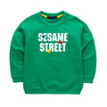 Sesame Street Letters Spring Boys Girls Sweatshirts T shirts Children Clothes Cotton Casual Kids Sweatshirts Hoodies Tops