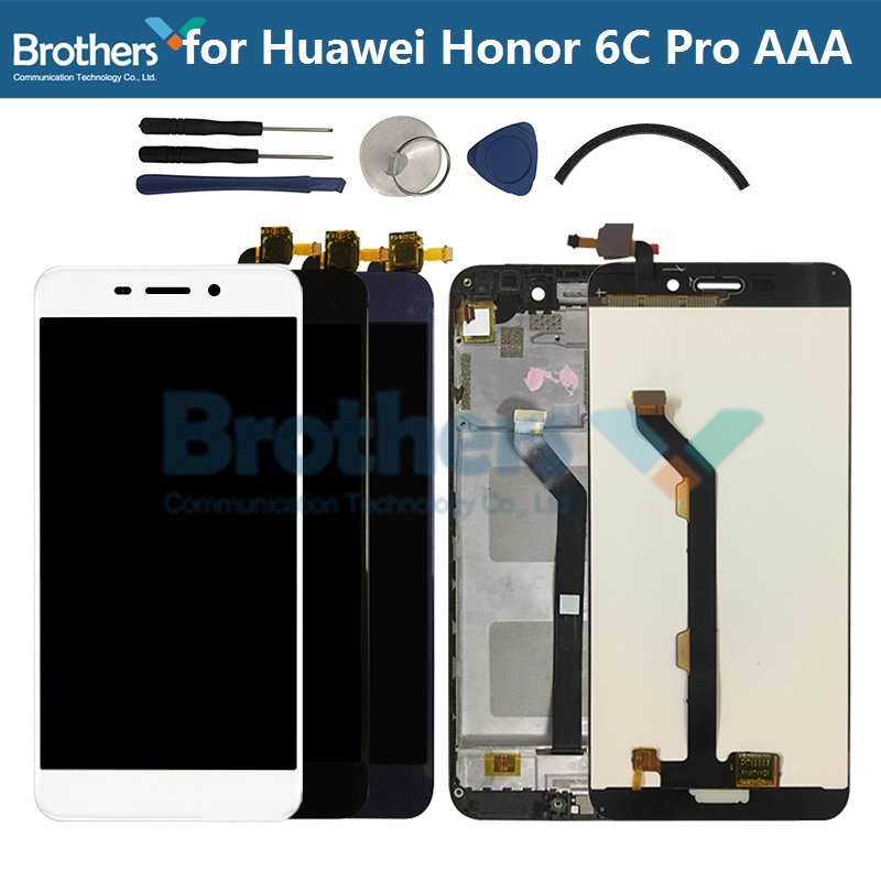 For Huawei Honor 6C Pro LCD Screen Touch Screen Digitizer LCD Assembly For Honor 6C Pro LCD Display JMM-L22 AL10 AL00 AAA Tested