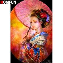 Homfun — cadre carré et rond pour peinture en diamant 5D,