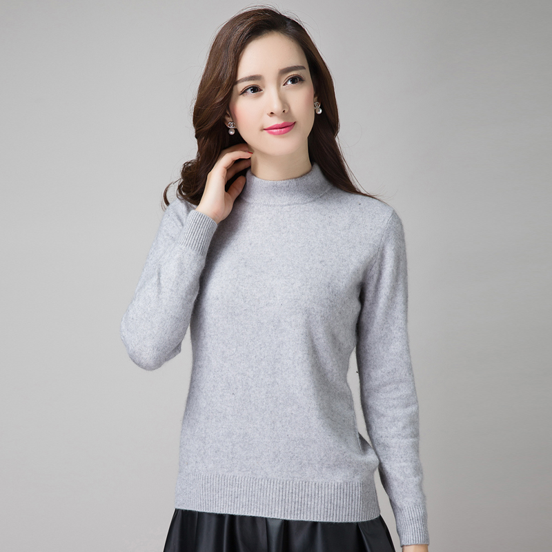 Hot Sale Korean Style Sweater Women's Pullovers 100% Cashmere ...