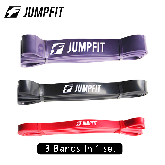 JUMPFIT 3pcs/Set Fitness Rubber Pull Up Resistance Bands Power Latex Band Loop Strap Expander Hanging Workout Bands