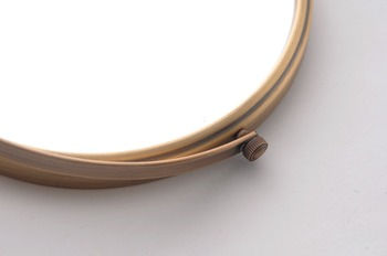 Bathroom Accessories Makeup Mirror Bath Mirror Antique Bronze Wall Mounted Magnifier Bathroom Mirrors Bathroom Hardware-80290 2