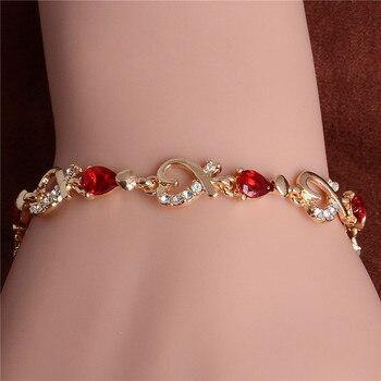 Women's Fashion Colorful Bracelets Bracelets Jewelry New Arrivals Women Jewelry Metal Color: H081