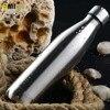 Insulated Stainless Steel Water Bottle Sport Double Walled Coke Shaped Vacuum Bottle Leak Proof 17 Oz