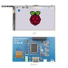 Módulo do painel lcd 4 polegadas hdmi, tela tátil tft 800*480 para banana pi raspberry pi 2 raspberry pi 3 modelo b/b +