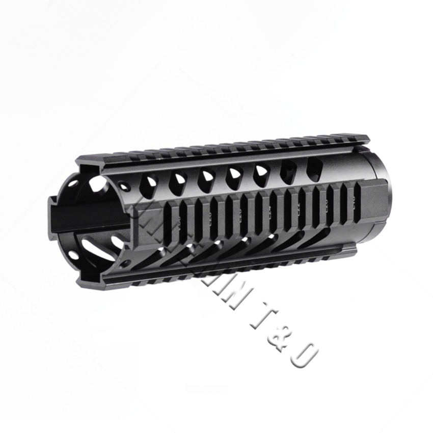 Tactical T Series Free Float Quad Picatinny Weaver Rail GT 7 2 inch Handguard Rail System