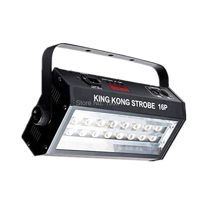 High Power 400W Flash Super Heldere DMX512 Geluid Controle 16 Led Stroboscoop 400W Strobe Lamp Party Disco Dj verlichting Strobe Light - 3