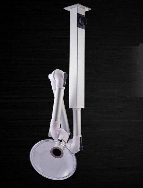 QM004 Aluminum alloy universal hood laboratory exhaust hood universal exhaust fan suction hood smoke ceiling