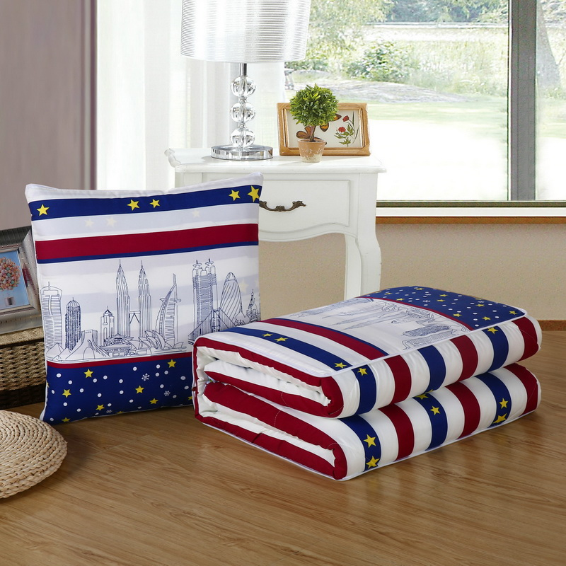 Multi-functional Quiltquilt Two-use Cushion Deformation Pillow