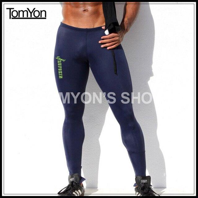 hommes de sport sexy serr pantalon gym mode gay cheville. Black Bedroom Furniture Sets. Home Design Ideas