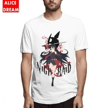 Akame ga KILL Night Raid T Shirt Men Anime Tee 100% Cotton S-6XL Plus Size Homme Tokyo Ninja Assassin Red Eye Killer T-shirt